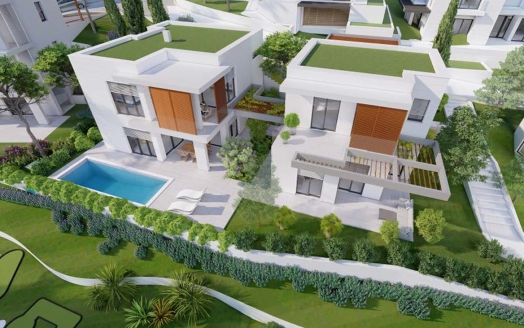Villenprojekt auf der Insel Ciovo / Slatine – Kroatien